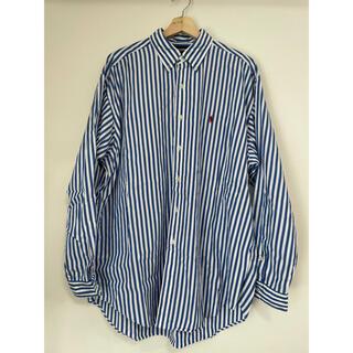 Ralph Lauren - 古着 ラルフローレン BDシャツ ストライプ