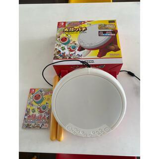 バンダイナムコエンターテインメント(BANDAI NAMCO Entertainment)の太鼓の達人 Nintendo Switchば~じょん!  タタコン セット(家庭用ゲームソフト)