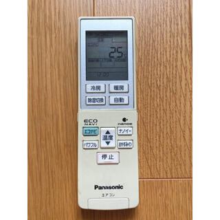 パナソニック(Panasonic)のパナソニック エアコンリモコン A75C3787(エアコン)
