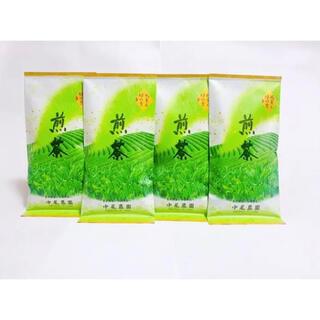 奈良県産 大和茶 煎茶 100g 4本 緑茶 茶葉 中尾農園