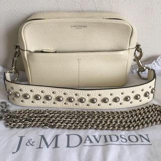 J&M DAVIDSON - 週末限定値下げ!美品 J&M DAVIDSON ガブリエル ウィズ スタッズ 白
