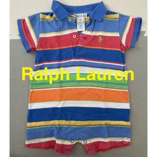 ポロラルフローレン(POLO RALPH LAUREN)の【Ralph Lauren】ラルフローレン ベビー ロンパース 70cm 9M(ロンパース)