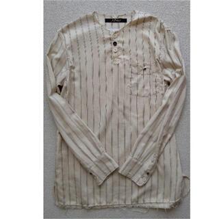 Paul Harnden - ARCHIVIO J.M.RIBOT ビンテージコットンノーカラーシャツ