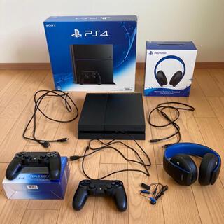 PlayStation4 - プレステ4本体 コントローラー ヘッドセット