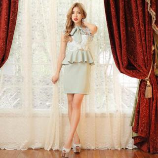 dazzy store - キャバクラドレス グリーンホワイト