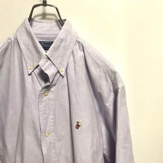 ポロラルフローレン(POLO RALPH LAUREN)のラルフローレン 長袖シャツ BDシャツ  ボタンダウン 胸元 刺繍(シャツ)