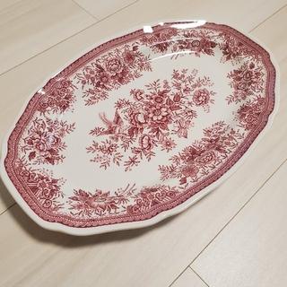 ビレロイアンドボッホ(ビレロイ&ボッホ)のレア バーレイ オーバルプレート 大皿(食器)
