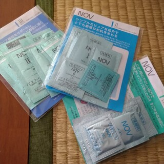 ノブ(NOV)のNOV スキンケアシリーズ AC,Ⅱ,Ⅲ ニキビ、敏感肌、乾燥肌(サンプル/トライアルキット)