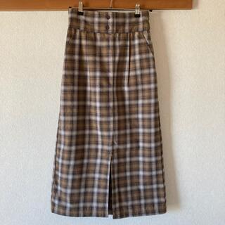 サマンサモスモス(SM2)のサマンサモスモス ブルー タイトスカート(ロングスカート)