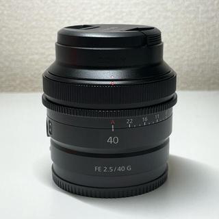 SONY - 【極美品】SONY FE 40mm F2.5 G SEL40F25G