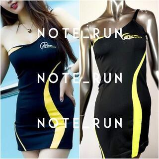 【xkc】コスチューム RQ レースクイーン 衣装 黒・黄(衣装一式)