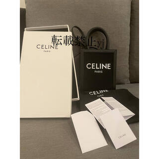 celine - セリーヌミニ バーティカル カバ キャンバス カーフスキン ブラック トリオンフ