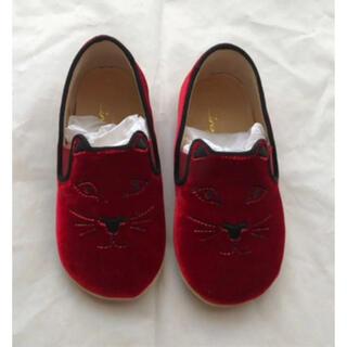 シャルロットオリンピア(Charlotte Olympia)の新品‼︎シャーロットオリンピア ベビー靴 14cm(スニーカー)