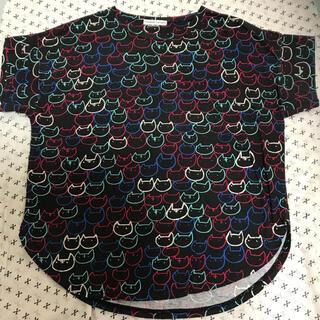 ツモリチサト(TSUMORI CHISATO)のツモリチサト  猫カットソー(Tシャツ(半袖/袖なし))