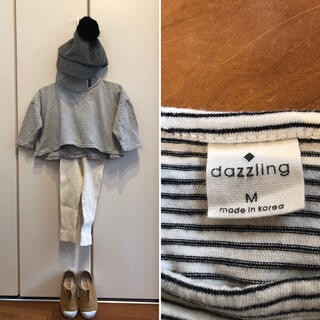 【USED】80〜90センチ上下セット★韓国子供服