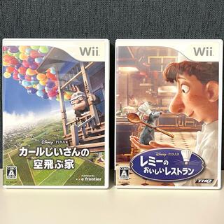ディズニー(Disney)のカールじいさんの空飛ぶ家 &レミーのおいしいレストラン Wii(家庭用ゲームソフト)