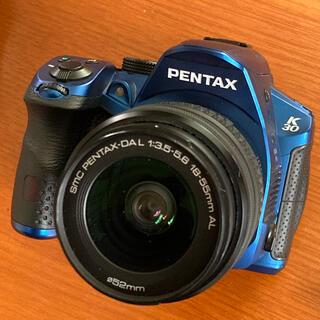ペンタックス(PENTAX)のペンタックス PENTAX K-30 シルキーブルー レンズキット 実用品 (デジタル一眼)