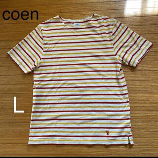 コーエン(coen)のcoen Tシャツ Lサイズ(Tシャツ(半袖/袖なし))