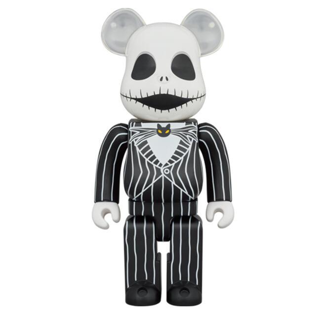 MEDICOM TOY(メディコムトイ)のBE@RBRICK JACK SKELLINGTON 1000% エンタメ/ホビーのおもちゃ/ぬいぐるみ(キャラクターグッズ)の商品写真