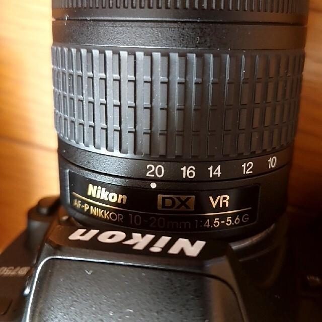 Nikon(ニコン)のd7500 レンズ3本セット スマホ/家電/カメラのカメラ(デジタル一眼)の商品写真