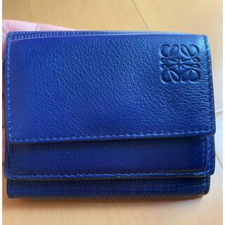 ロエベ(LOEWE)の美品 LOEWE ロエベ 三つ折財布(財布)