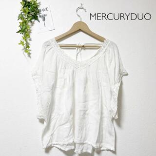 マーキュリーデュオ(MERCURYDUO)のMERCURY DUOブラウス(シャツ/ブラウス(半袖/袖なし))