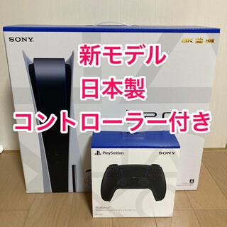 SONY - 新品 PS5 本体+DualSense コントローラー黒(匿名配送)