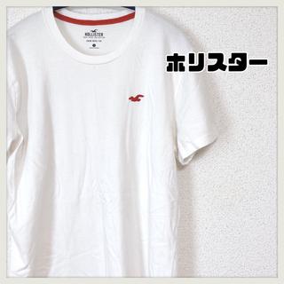 Hollister - 【ホリスター】白Tシャツ 古着