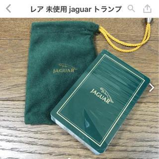 レア jaguar トランプ 巾着付き