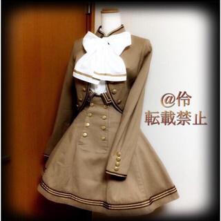 アンジェリックプリティー(Angelic Pretty)の大人気廃盤品 EXCENTRIQUE 15A レジオン・ジャケット&スカート(セット/コーデ)