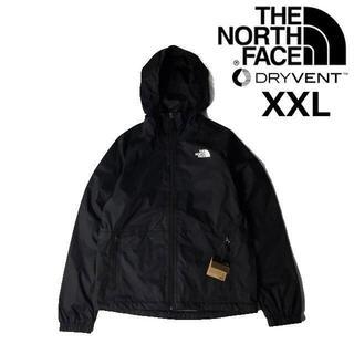 THE NORTH FACE - ノースフェイス ナイロンジャケット フルジップ(XXL)黒 180915