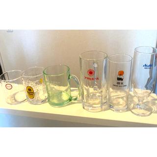アサヒ(アサヒ)の懐かしの!昭和レトロ食器 ビールジョッキ グラス(アルコールグッズ)