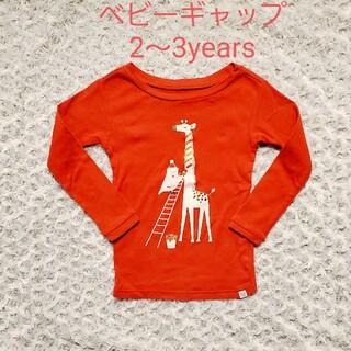 ベビーギャップ(babyGAP)のベビーギャップ 3years  サンタ柄(Tシャツ/カットソー)