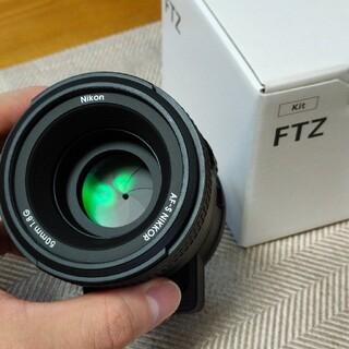 Nikon - Nikon FTZ + af-s Nikkor 50mm 1:1.8 G