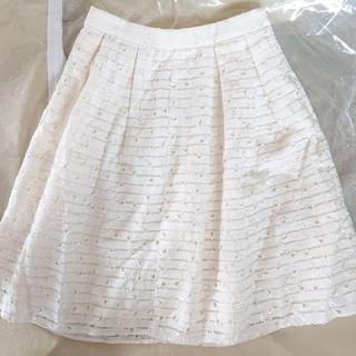 ミッシュマッシュ(MISCH MASCH)のミッシュマッシュ スカート 花柄 清楚 フェミニン オフィス カジュアル(ひざ丈スカート)