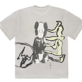 フラグメント(FRAGMENT)のfragment × travis × kaws コラボTシャツ(Tシャツ/カットソー(半袖/袖なし))