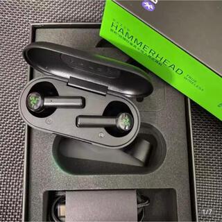 レイザー(LAZER)の【新品】Razer Hammerhead True Wireless ブラック(ヘッドフォン/イヤフォン)