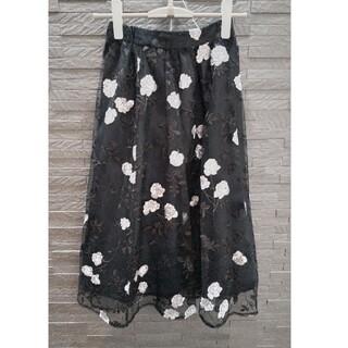 ミッシュマッシュ(MISCH MASCH)のミッシュマッシュ 刺繍スカート(ひざ丈スカート)