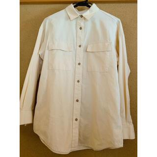 GU - GU コーデュロイオーバーサイズシャツ