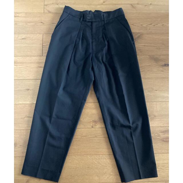 stein ex wide tapered trousers シュタイン メンズのパンツ(スラックス)の商品写真