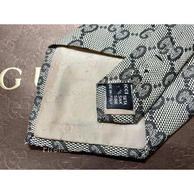 Gucci(グッチ)のGUCCI グッチ GG柄 シルク ネクタイ メンズのファッション小物(ネクタイ)の商品写真