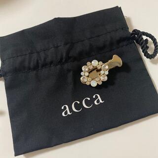 アッカ(acca)のaccaヘアアクセ(バレッタ/ヘアクリップ)