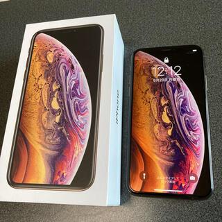 iPhone - 【美品】iPhone  XS GOLD 64 GB SIMフリー 本体