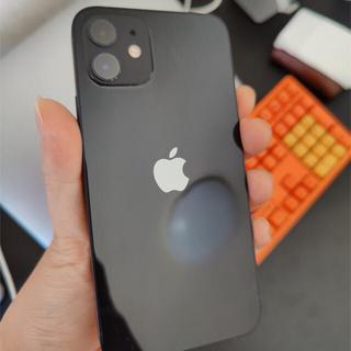 Apple - iphone12 black 128gb sim フリー