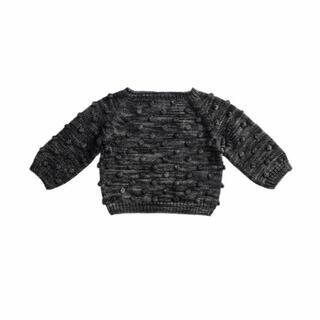 Caramel baby&child  - misha&puff  ポップコーンニット sweater