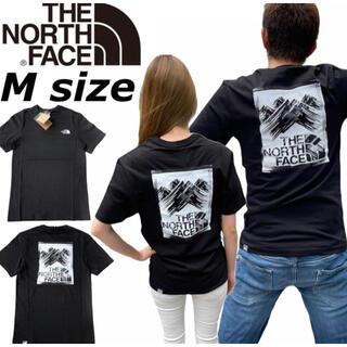 THE NORTH FACE - ノースフェイス Tシャツ 半袖 ボックス マウンテン NF0A559V 黒 M