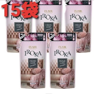 フレア フレグランスイ IROKA 柔軟剤  パウダリー ピオニー(15袋)(洗剤/柔軟剤)