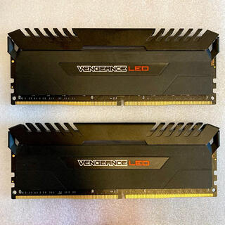 CORSAIR DDR4-3000 16GB×2 Vengeance LED