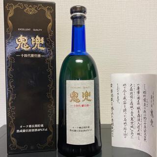 十四代 鬼兜 米焼酎 40度 720ml 高木酒造 【箱付】(焼酎)