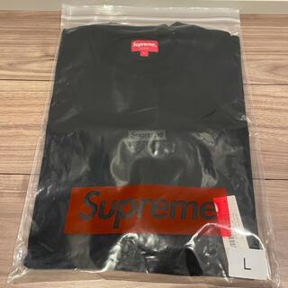 Supreme - Supreme High Density Small Box S/S Top 黒